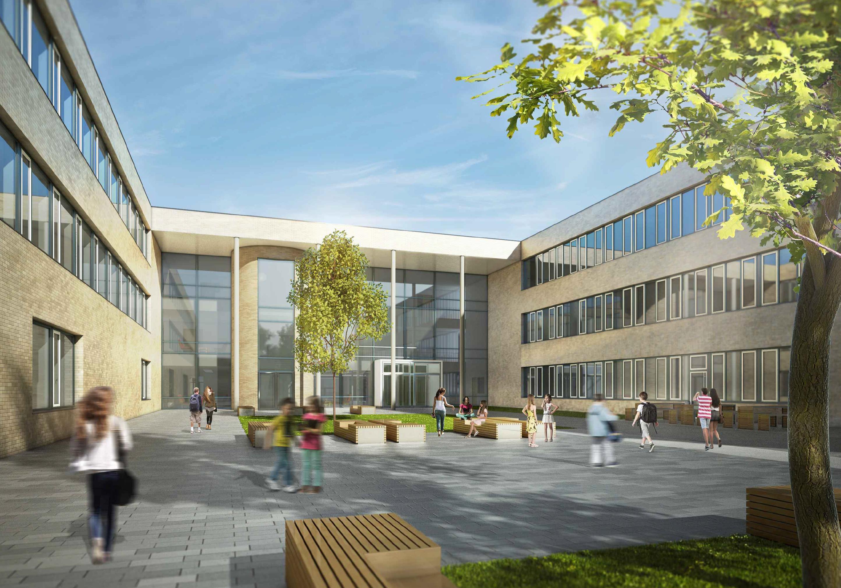 Neubau – Gesamtschule Würselen